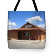 Route 66 - Old Log Cabin 3 Tote Bag
