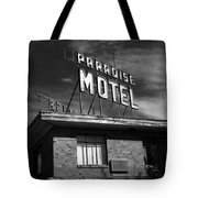 Route 66 - Paradise Motel 2 Tote Bag
