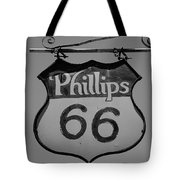 Route 66 - Phillips 66 Petroleum Tote Bag