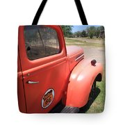 Route 66 Pickup Truck Tote Bag