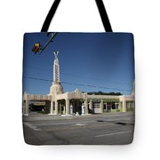 Route 66 - Shamrock Texas Tote Bag