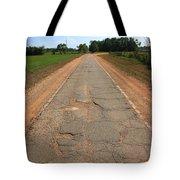 Route 66 - Sidewalk Highway Tote Bag
