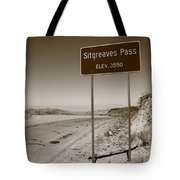 Route 66 - Sitgreaves Pass Tote Bag