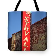 Route 66 - Stovall Theater Tote Bag