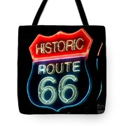Route 66 Tote Bag by Theodore Clutter