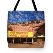 Route 66 Trading Post Tote Bag