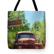 Route 66 Truck Tote Bag