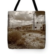 Route 66 - Twin Arrows Trading Post Tote Bag