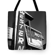 Route 66 - Western Motel 7 Tote Bag