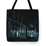 Row Homes Tote Bag