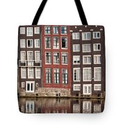 Row Houses In Amsterdam Tote Bag