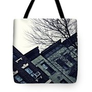 Row Houses In Washington Heights Tote Bag