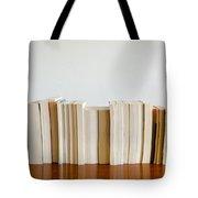 Row Of Books Tote Bag