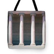 Row Of Columns San Francisco Ca Tote Bag