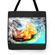 in a boat with you, my love, I will soon forget all about who I am   Tote Bag