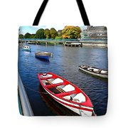 Row Row Row Your Boat Tote Bag