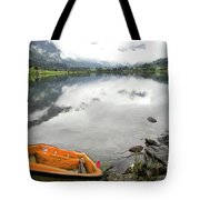 Row Your Boat To The Briksdalsbreen Glacier Tote Bag