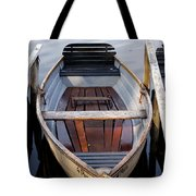 Rowboats At The Schlachtensee Tote Bag