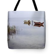 Rowboats On Nonnensee Tote Bag