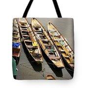 Rowing Boats Tote Bag