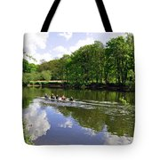 Rowing Practice - Near Branston Tote Bag