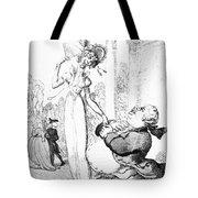 Rowlandson: Cartoon, 1810 Tote Bag