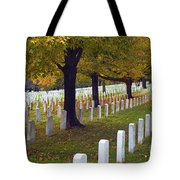 Rows Of White Tote Bag