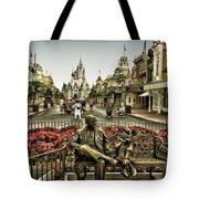 Roy And Minnie Mouse Antique Style Walt Disney World Tote Bag