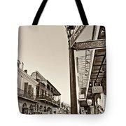 Royal Afternoon Sepia Tote Bag