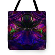 Royal Blue And Amethyst Tote Bag