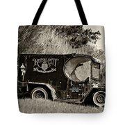 Royal City Paddy Wagon Sepia Tote Bag