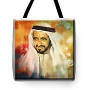 Royal Collage Tote Bag