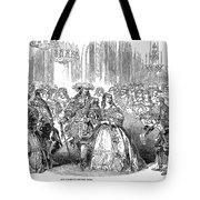 Royal Costume Ball, 1851 Tote Bag