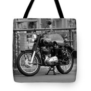 Royal Enfield Goes Berlin Tote Bag