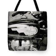 Royal Enfield Motorbike Tote Bag
