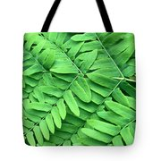 Royal Fern  Frond Detail Tote Bag