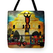 Jesus And Bourbon Tote Bag