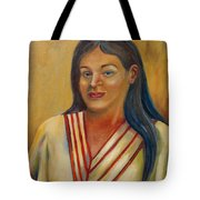 Royal Maiden Xochitl Tote Bag
