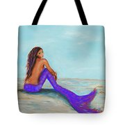 Royal Mermaid Tote Bag