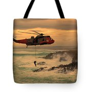 Royal Navy Rescue  Tote Bag