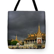 Royal Palace Cambodia Tote Bag