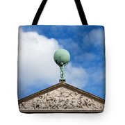 Royal Palace In Amsterdam Architectural Details Tote Bag