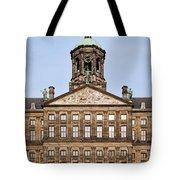 Royal Palace In Amsterdam Tote Bag