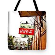 Royal Pharmacy Soda Sign Tote Bag