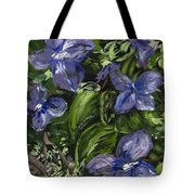 Royal Purple Tote Bag