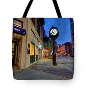 Royal Street Clock Tote Bag