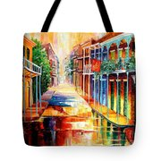Royal Street Reflections Tote Bag by Diane Millsap