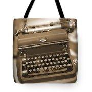 Royal Typewriter Tote Bag