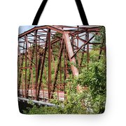 Rt 66 Bridge In Oklahoma Tote Bag