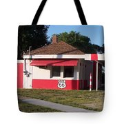 Rt 66 Dwight Il Food Stop Tote Bag